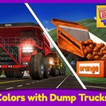 Learn Colors with Dump Trucks – Part 1