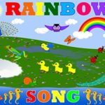 Learn Colors with Panda Kids Songs — Let's Sing a Rainbow Song