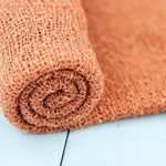 Bonbons Newborn Photography Wraps Newborn Stretch Wrap Rust Color Newborn Baby Photo Prop Rust